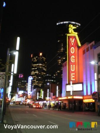 Que hacer en Vancouver - Granville Street